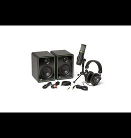 Mackie Mackie  CREATOR  Bundle Includes:  Studio monitors, USB condenser microphone, and headphones