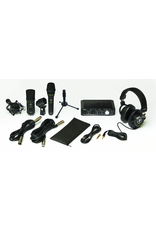 Mackie Mackie  PRODUCER  Bundle Includes:   Audio interface, headphones, condenser microphone, and dynamic microphone