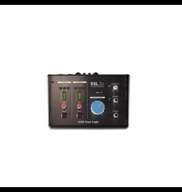 SSL SSL 2+ Channel USB Interface 2 Headphone outs, unbalanced i/o, Midi i/o