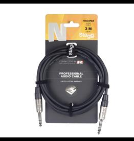 Stagg N series Audio Cable, Jack/Jack 1 m (3')