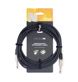 Stagg Instrument cable, Jack/Jack, 3 m (10')