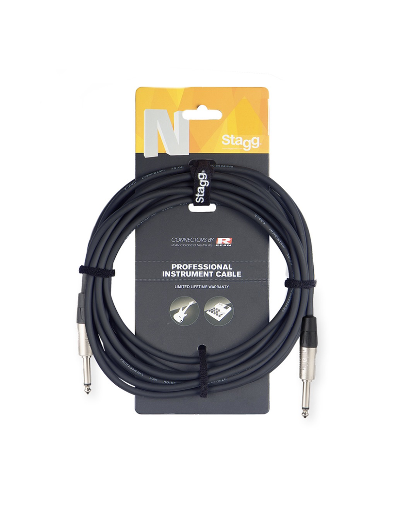 Stagg Stagg Instrument cable, jack/jack (m/m), 3 m (10')
