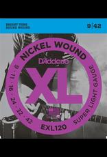 Daddario Daddario XL Nickel Wound ALL GAUGES