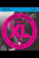 Daddario Bass Strings45-100 EXL170 45-100 Long Scale