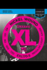 Daddario EXL170 Bass 5-String 45-130