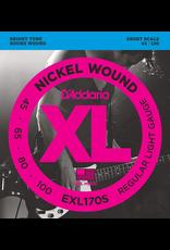 Daddario Bass Short Scale 45-100 Dadd Exl170-S 45-100 Short Soft