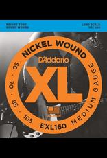 Daddario BassStrings50 to 105 Dadd Exl160 50-105 Medium Scale