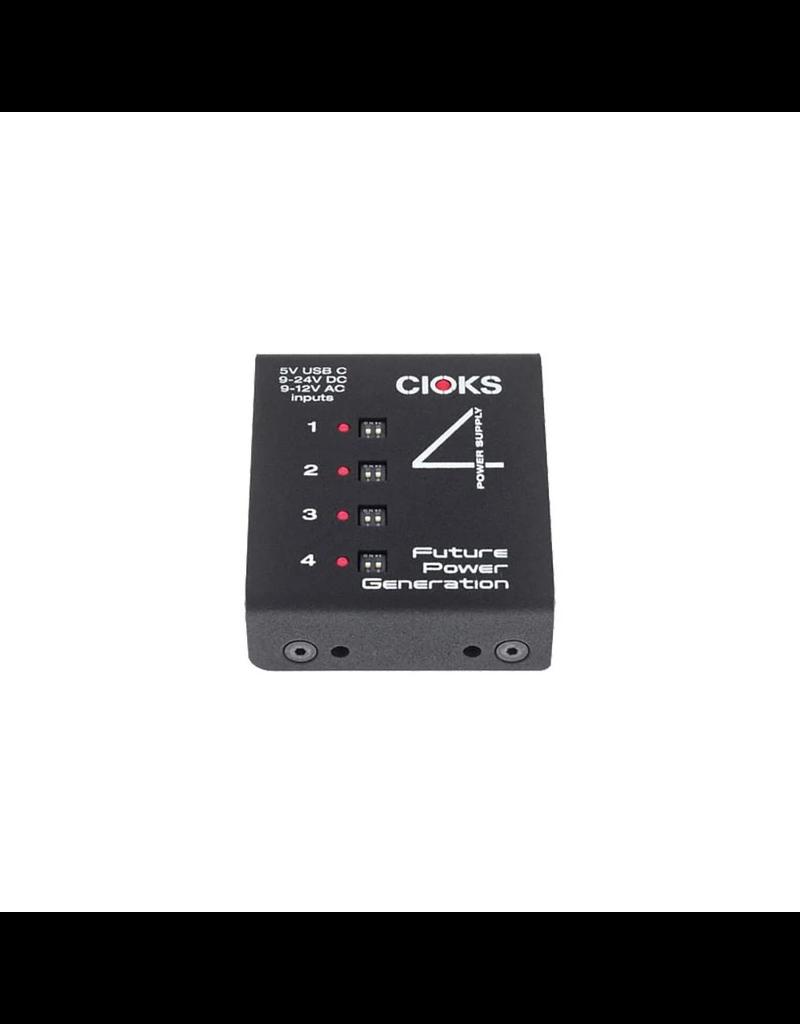Cioks 4 (expander kit)* Expander version of CIOKS4 - 4 isolated outs, 6W ea, 660mA at 9VDC on ea, 5v USB