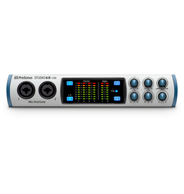 Presonus Studio 6|8 Interface Studio 28 interface Studio 28 interface USB-C with 4 x XMAX class A preamps