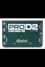 Radial Stereo Direct Box Radial Transformer Passive