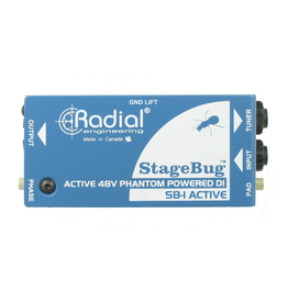 Radial StageBug1 Active Direct Great with Active Pickups