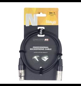 Stagg Stagg Microphone cable, XLR/XLR (m/f), 3 (10'), N-series