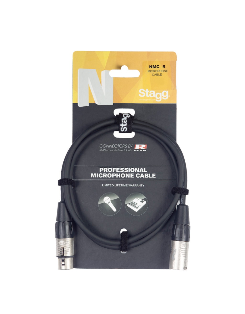Stagg Microphone cable, XLR/XLR, 3m (10')