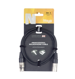 Stagg Stagg Microphone cable, XLR/XLR (m/f), 6 m (20'), N-series