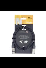 Stagg Stagg Microphone cable, XLR/XLR (m/f), 10 m (33'), N-series