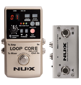 NUX Loop Core Bundle with Dual Switch