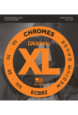 Daddario ECB82 Bass Flat Wound 50-105