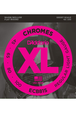 Daddario ECB81S Bass Flat Wound Short-Scale 45-100