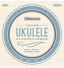 Daddario Carbon Ukulele Tenor LG Tenor Low G Pro Arte Carbon Uke Strings