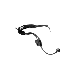 "Shure WH20 Dynamic Headset Microphone w/ 1/4"" plug"
