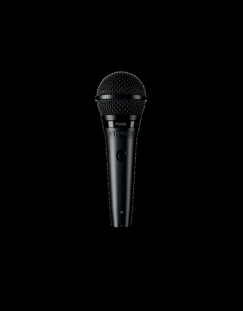 Shure PGA58 Cardioid Dynamic Vocal Microphone w/ XLR