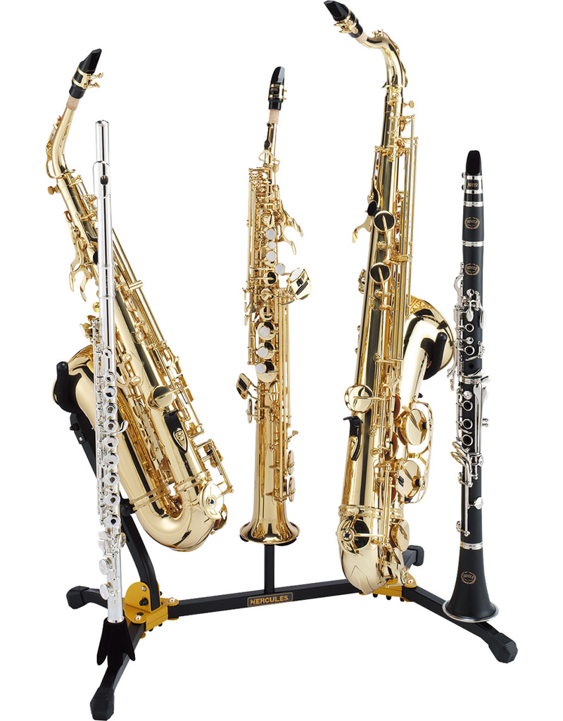 Hercules Alto/Tenor/Soprano Saxophone & Flute/Clarinet Stand