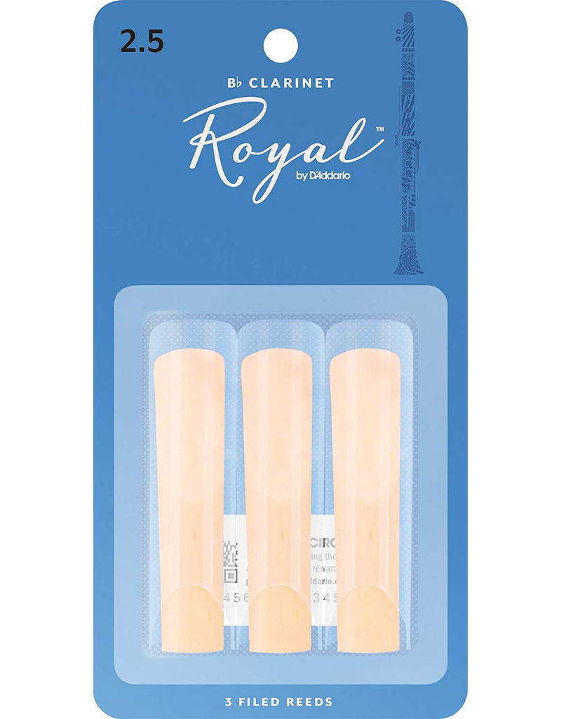 Rico Bb Clarinet Reeds (3 pack)