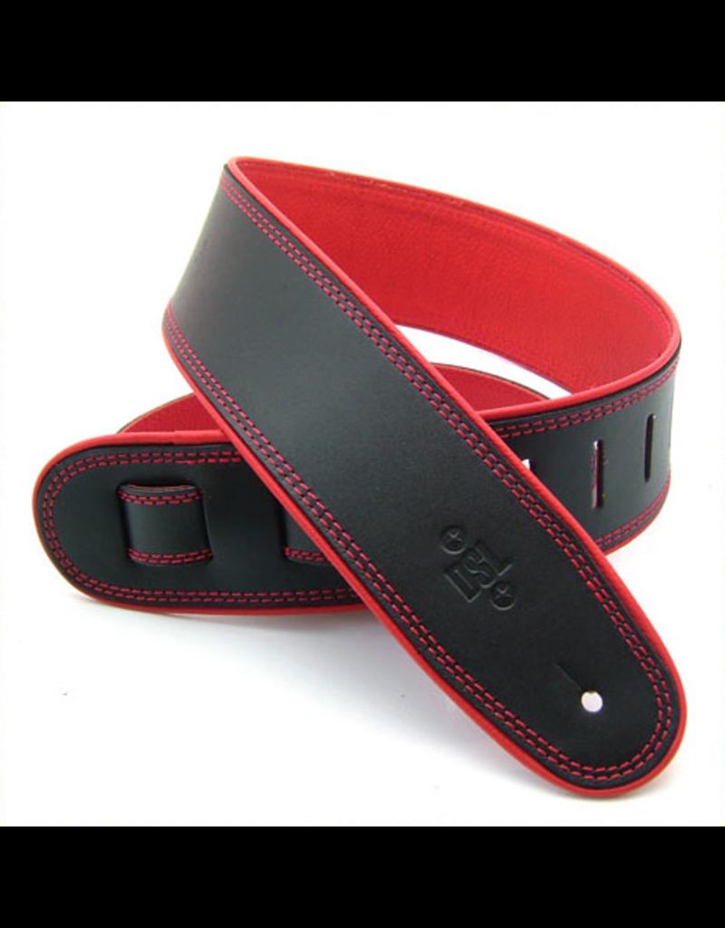 "DSL 2.5"" Rolled Edge Black/Red"