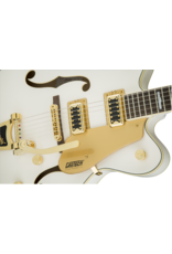 Gretsch G5422TG Electromatic® Hollow Body Double-Cut with Bigsby® and Gold Hardware, Snowcrest White