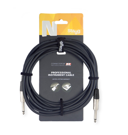 Stagg Instrument cable, Jack/Jack, 1.5 m (5')