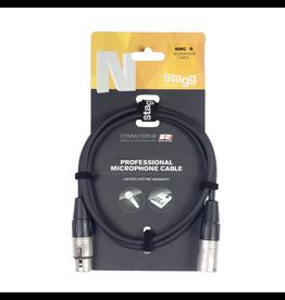Stagg Stagg Microphone cable, XLR/XLR (m/f), 1 m (3'), N-series