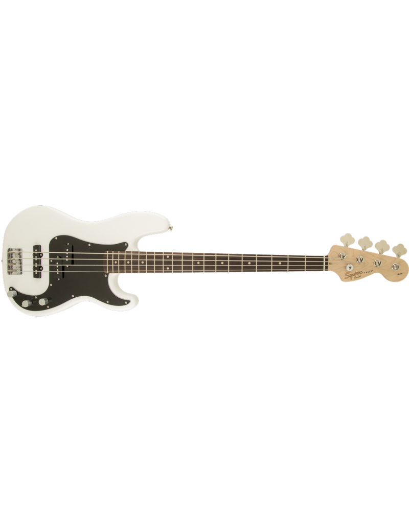 Squier Affinity Series Precision Bass PJ, Laurel Fingerboard, Olympic White