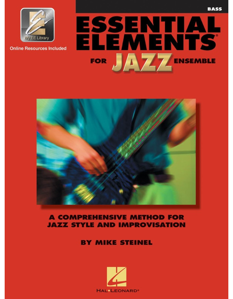Hal Leonard Essential Elements for Jazz Ensemble - Bass