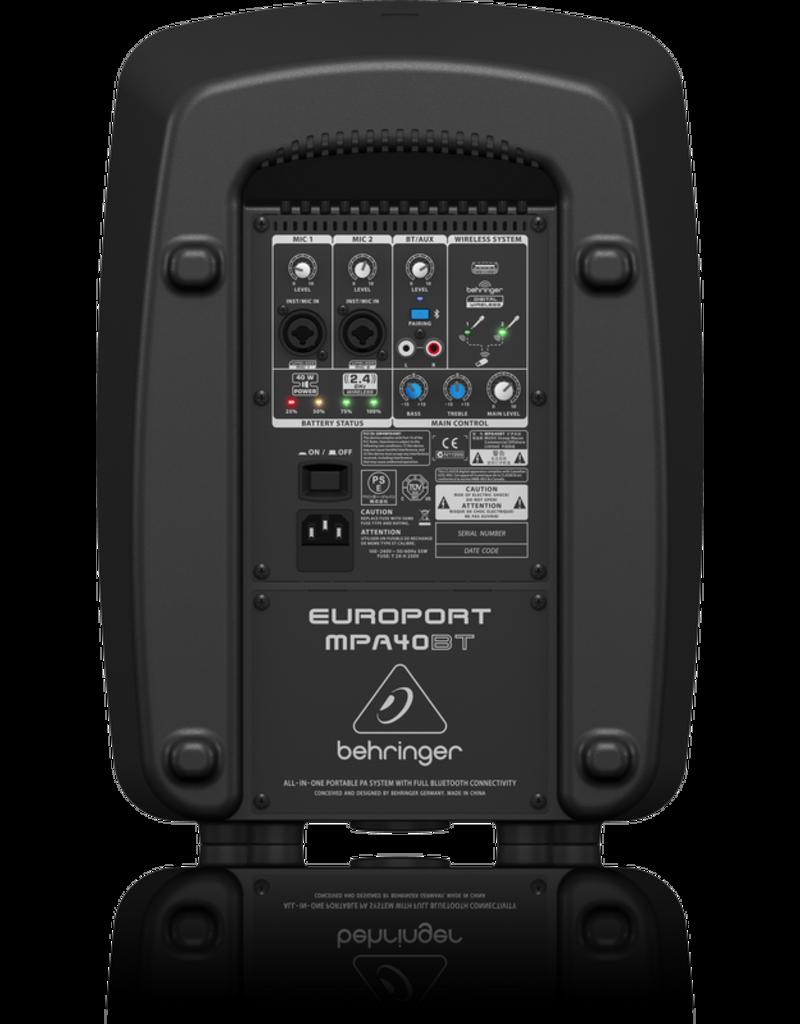 Behringer EUROPORT MPA40BT PA system