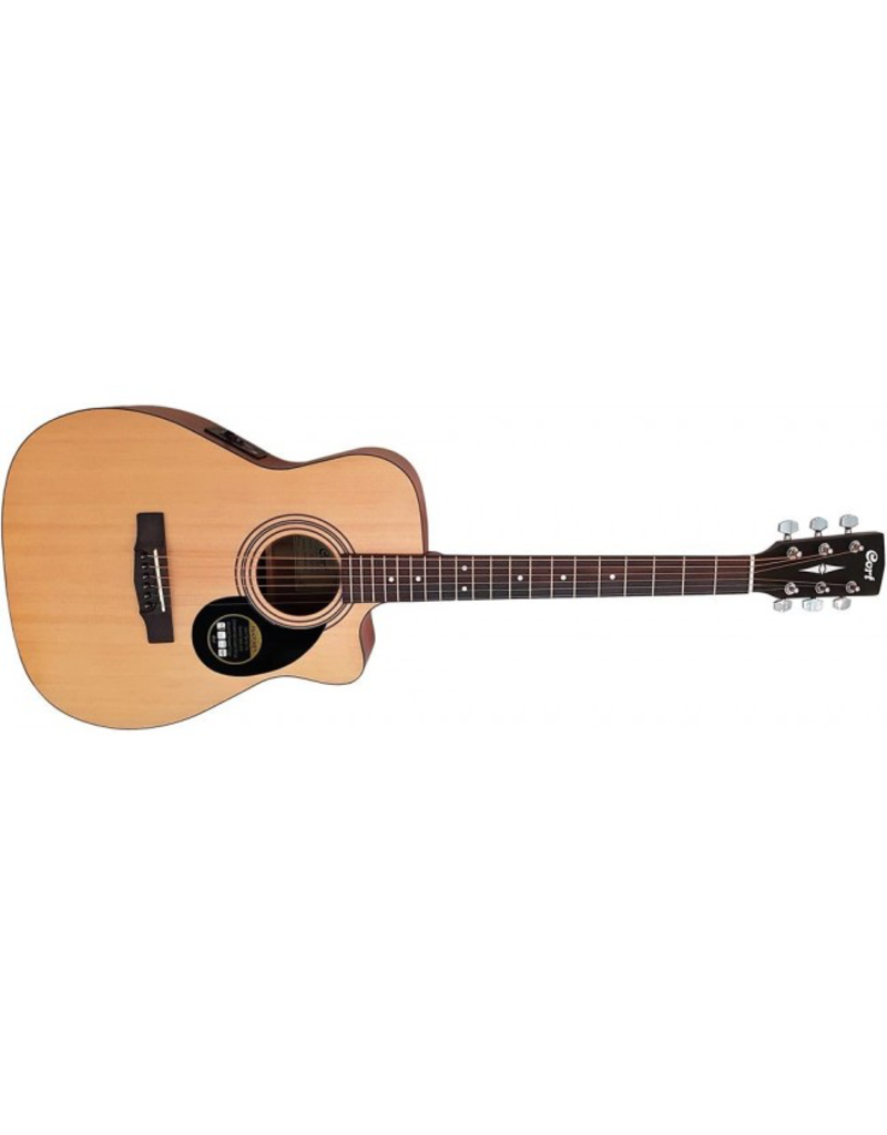 Cort AF515CE Guitar - Satin - pickup and Cutaway