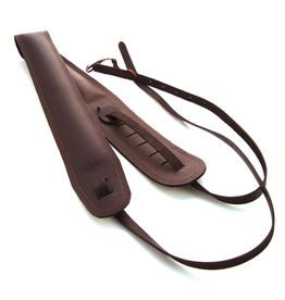 DSL Banjo Saddle Strap Brown/Brown