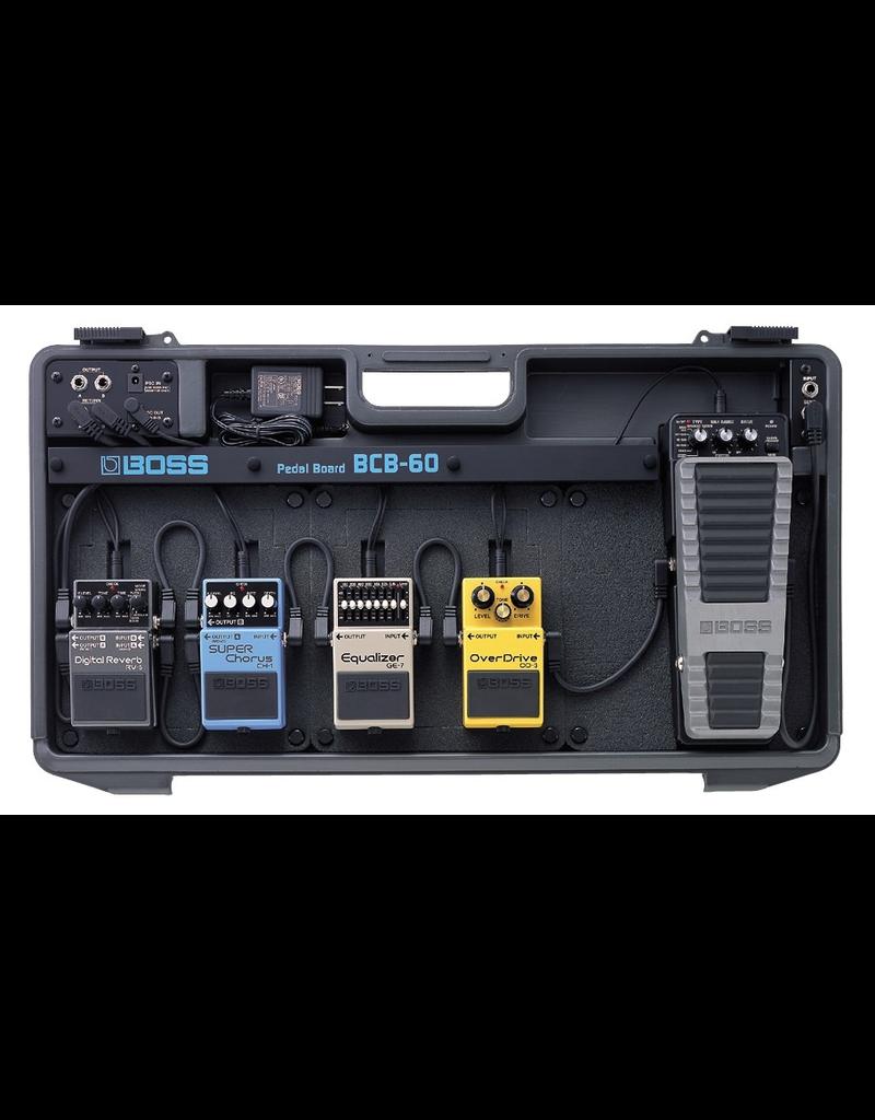 Boss BCB60 PEDAL BOARD with adaptor
