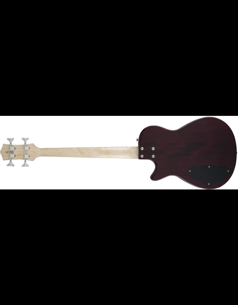 Gretsch G2220 Electromatic Junior Jet Bass II Short-Scale, Black Walnut Fingerboard, Walnut Stain