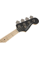 Squier Contemporary Active Jazz Bass HH, Maple Fingerboard, Flat Black