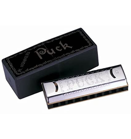 Hohner Hohner Historic Collection Puck 10-Hole Harmonica in the Key of C