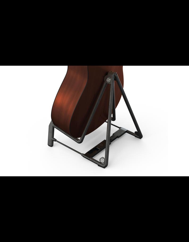 K&M Black Heli 2 Acoustic Guitar Stand