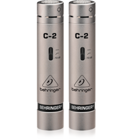 Behringer C-2 Condenser Microphone (Matched Pair)