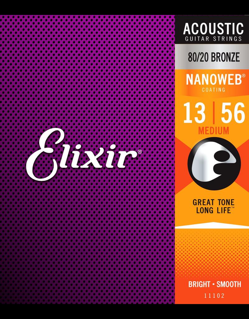 Elixir Elixir Medium 80/20 13-56 Nano