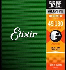 Elixir 45-130 Nanoweb Bass 5st Medium Elixir14202