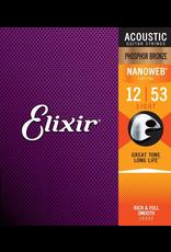 Elixir 13-56 Nanoweb Phosphor Bronze Acoustic Medium Elixir 16102