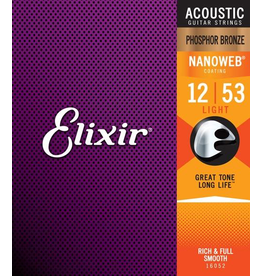 Elixir Elixir Phosphor Bronze Med- 13-56 Nanoweb