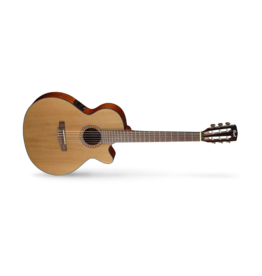 Cort CEC5 Classical Cutaway Guitar Gloss Natural Pickup