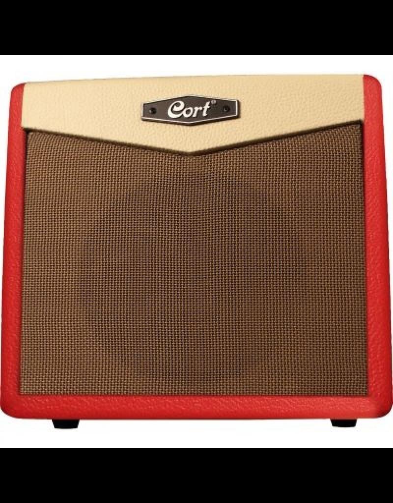 Cort CM15R 15W Amplifier, Dark Red
