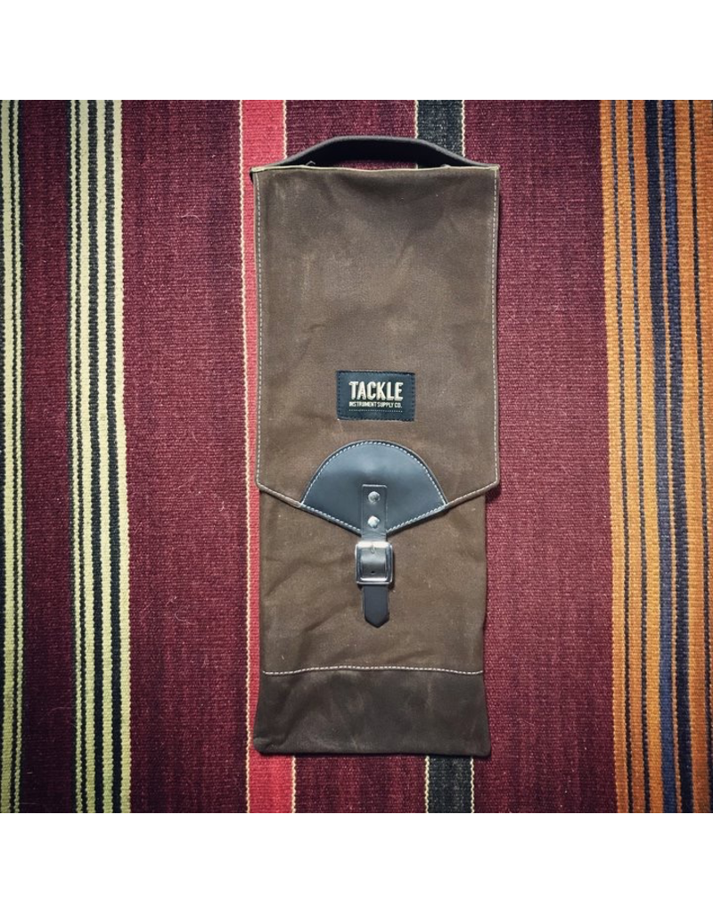 Tackle Waxed Canvas Compact Stick Bag / Brown