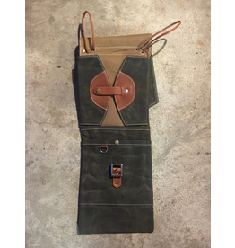Tackle Waxed Canvas Compact Stick Bag / Forest Green